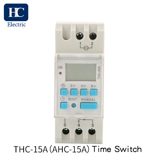 Weekly digital time switch THC-15A,20A,25A