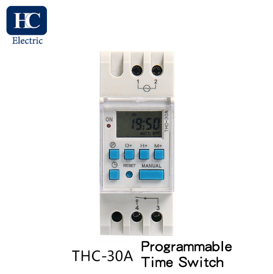 Weekly digital time switch THC-30A 1 Channel