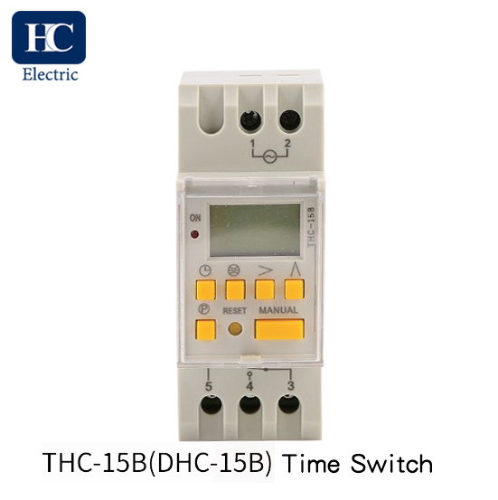 Astronomical Time Switch 1 Channel THC-15B