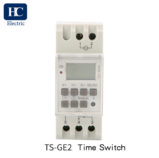 Digital time switch With Daylight Saving Time and winter Time Function TS-GE2-16A,20A,25A,30A