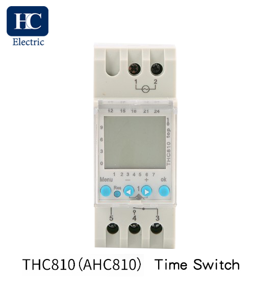 Weekly Programmable Digital time switch With Daylight Saving Time and winter Time Function THC-810 16A,20A,25A,30A