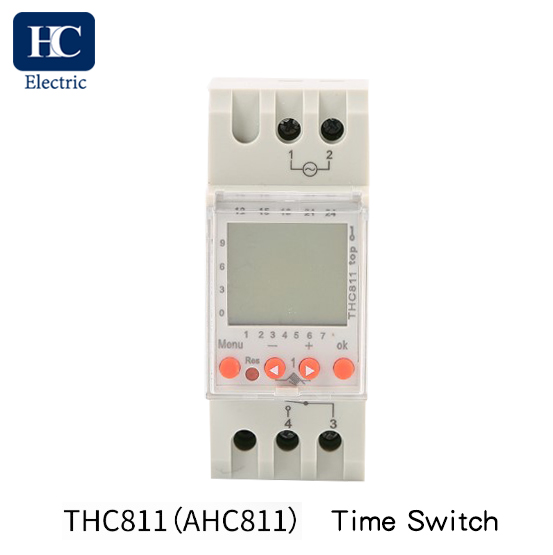 Weekly Programmable Digital time switch With Daylight Saving Time and winter Time Function THC-811 16A,20A,25A,30A